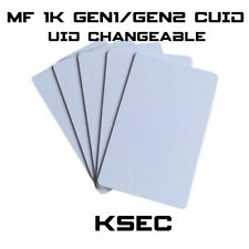 MF 1K Magic UID  Changeable UID  Gen1/Gen2 S50 BLOCK 0 WRITABLE CUID