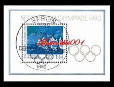 DDR Mi.Nr. 2531 - Block 60 / Spiele der XXII - Olympiade 1980 Gestempelt