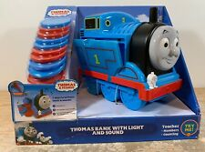 Thomas the Train Bank with Light and Sound Music Learning Toy Counting Coins