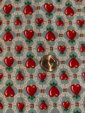New ListingMary Engelbreit Fabric, Hearts, 1 yd. New
