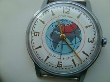SPUTNIK Satellite 1950s KIROVSKIE SOVIET WATCH  +++ TOP CONDITION +++ wristwatch