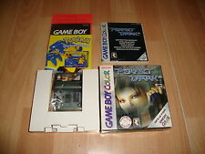 PERFECT DARK CGB-P-VPDP DE RARE PARA LA NINTENDO GAME BOY COLOR USADO COMPLETO