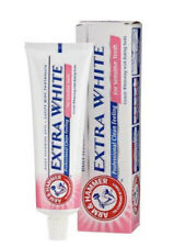 6 Boxes Arm & and Hammer Extra White Sensitive Teeth 125g Toothpaste
