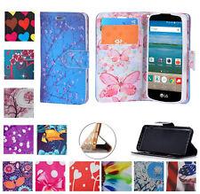 "4.5"" LG Optimus Zone 3 SPREE Case Designed Wallet Pocket Purse Screen Flip Cover"