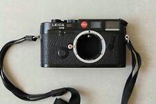 Leica M6  classic 35mm schwarz black Messsucher range finder