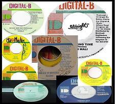 CLASSIC REGGAE REVIVE DIGITAL B RECORDS MIX CD