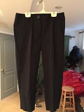 Women's Margaret M Black Capris straight leg NWT $125