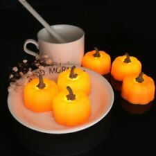 Halloween LED Pumpkin Lamp Flickering Night Light Home Party Decor-RO