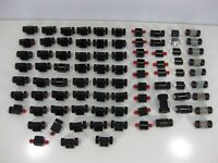 Vintage Lego Wheels lot of 84 + Pieces 2 X 2