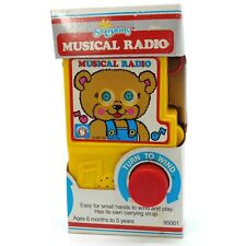 Vintage Shelcore Shelykins Musical Radio Wind Up Kids Toy 1987 Moving Eyes Bear