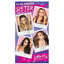 Little Mix Sister Birthday Card NEW