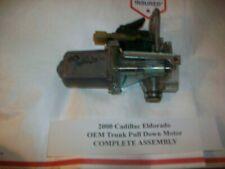 1998 1999 2000 Cadillac Eldorado Trunk Latch Lid Pull Down Motor 5 pin