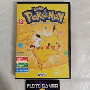DVD ZONE 2 FR : Planète Pokémon - 2 - Saison 1 Ep 4 à 6 - Enfance - Floto Games