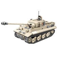 WW2 Building Blocks German Military Army Tank 131 Big Bricks Toys Set 1018PCS