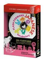 Flash Forward: Japanese Vocabulary - CD-ROM By Living Language - VERY GOOD