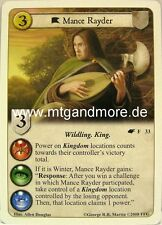A game of thrones LCG - 1x Mance Rayder #033 - The Winds of invierno