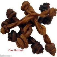 "RedBarn BULLY BARBELLS 5"" Dog Chews & Treats Sticks Grass Fed Cattle NATURAL"