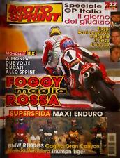 Motosprint 22 1999 Biaggi, Rossi e Capirossi al Mugello in cerca di riscatto