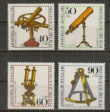 STAMP / TIMBRE ALLEMAGNE GERMANY SERIE N° 922 A 925 ** INSTRUMENTS D'OPTIQUE