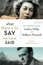 What There Is to Say We Have Said: The Corresponde