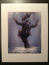 "Alexander Millar ~ Singing In The Rain  ~ Art Mounted Picture 14x11"" FREE P&P"