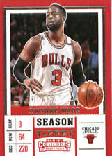Dwyane Wade 2017-18 Panini Contenders Draft Picks Season Ticket Variation #17 Bu