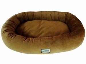Armarkat - Large Pet Bed Bed Brown & Ivory