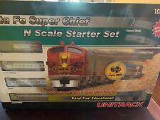 Santa Fe Super Chief Kato N Scale Starter Train Set