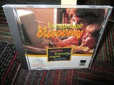 LANGUAGE DISCOVERY PC CD-ROM BY ROM TECH, BASIC VOCAB. IN FRENCH,SPANISH,DUTCH
