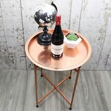 Copper Living Room Round Coffee Tables