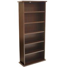 CHAK - DVD Media Storage Shelf Unit - Dark Oak MS0240