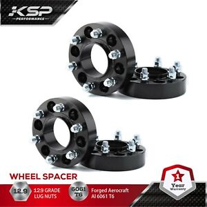 """4 Pcs Wheel Spacers 6x135 1.25"""" thick 14x1.5 For Ford F-150 2015-2020 Expedition"""