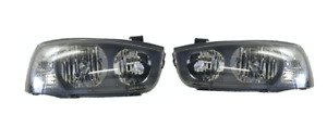 Headlights Pair Left and Right For Hyundai Elantra XD (2000-2003)