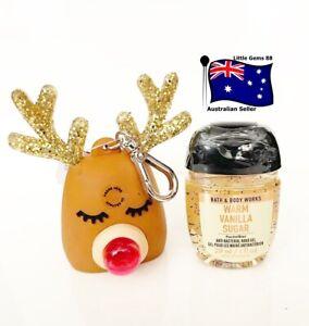 BATH & BODY WORKS Vanilla & Reindeer Holder 29ML POCKETBAC HAND GEL SANITIZER