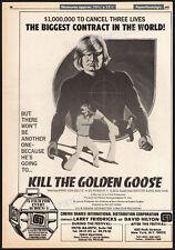 KILL THE GOLDEN GOOSE__Orig. 1979 Trade AD promo_poster__ED PARKER__BONG SOO HAN