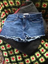 denim shorts size 12