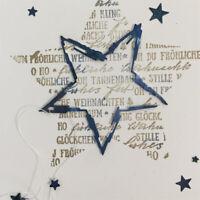 Pentagramm Metall Stencil Cutting Die Scrapbooking Stanzschablone Album Deko DIY