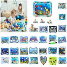 DE Baby Wasser Wasserkissen Spielmatte Aufblasbare Spielzeug -Bauch-Zeit-Seewelt