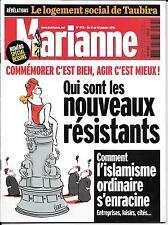 MARIANNE N° 978--ISLAMISME ORDINAIRE S'ENRACINE/LOGEMENT SOCIAL TAUBIRA