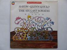 HAYDN GLENN GOULD Six last sonatas D2 36947 2XLP