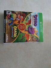 Spyro Crash Remastered Bundle (Xbox One) Spyro Reignited Crash Bandicoot Trilogy