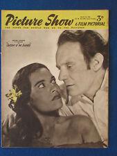 Picture Show Magazine - 1/3/1952 - Trevor Howard & Kerima Cover