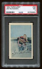 1952 Parkhurst #38 Jim McFadden *Black Hawks* PSA 7 NM #25783864