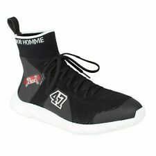 NWT DIOR HOMME Black Knit Lace Up B21 Sock Sneakers Shoes Size 8/41