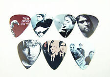 10pcs 1.0mm Nirvana Rock Band Guitar picks Plectrums Printed Both Sides