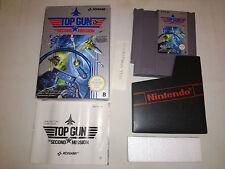 Top Gun The Second Mission NES PAL B Muy buen estado