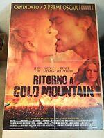 RITORNO A COLD MOUNTAIN Manifesto Film 2F Poster Originale Cinema 100x140