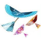 DIY 1Pc Kids Toys Rubber Band Power Air Plane Ornithopter Birds Models Kites