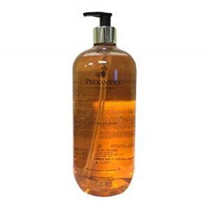 Pecksniff's, Shower Gel 1L, Freesia & Poppy, NEW, RRP £25