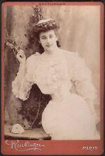 Henriette Harlay. Photographe Reutlinger vers 1895.